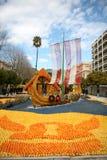 2011年ciitrus节日menton 免版税库存图片