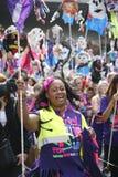 2011年notting狂欢节的小山 库存照片