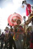 2011年notting狂欢节的小山 免版税库存图片