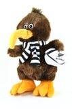 2011所有黑色托起猕猴桃吉祥人橄榄球&#1999 免版税库存照片