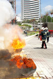 2011架庆祝日战斗机射击马来西亚 库存图片
