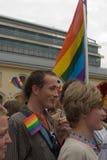 2011次游行布拉格自豪感 免版税图库摄影