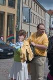 2011次游行布拉格自豪感 库存图片