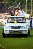 2011次生日庆祝国王马来西亚人游行 免版税库存图片