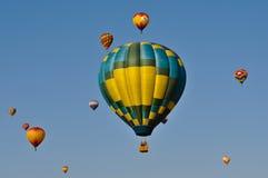 2011气球热里诺 图库摄影