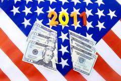 2011经济恐惧 免版税图库摄影
