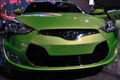 2011自动小轿车hyundai显示 图库摄影
