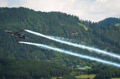 2011航空制空权奥地利显示zeltweg 免版税库存图片