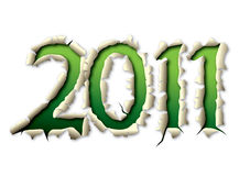 2011 éclatent Photographie stock libre de droits