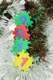 2011 καλή χρονιά Στοκ Εικόνες