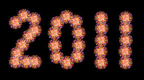 2011 Новый Год дня стоковое изображение
