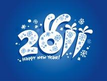 2011 Новый Год карточки иллюстрация вектора