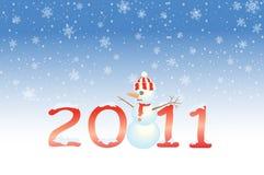 2011 Новый Год бесплатная иллюстрация