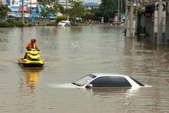 2011 поток mega Таиланд Стоковое Изображение RF