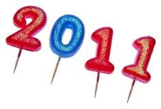 2011 празднуют Стоковые Изображения RF