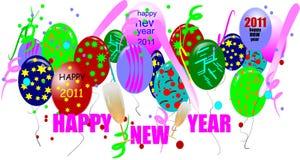 2011 счастливое Новый Год Стоковые Фото