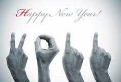 2011 счастливое Новый Год Стоковое Изображение