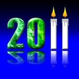 2011 час земли Стоковая Фотография RF
