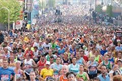2011年伦敦马拉松 库存图片