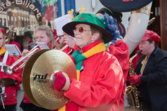2011年布雷达狂欢节荷兰 免版税库存照片