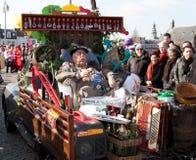 2011年狂欢节马斯特里赫特游行 免版税库存照片