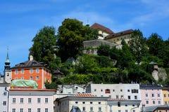2011年都市萨尔茨堡的场面 免版税库存图片