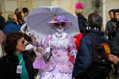 2011年阿讷西节日法国venetien 免版税库存图片