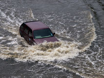 2011洪水泰国 库存图片