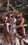2011-12 NCAA Basketball Action Stock Images