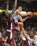 2011-12 NCAA Basketball Action Royalty Free Stock Image