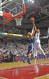 2011-12 NCAA Basketball Action Royalty Free Stock Photos