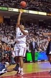 2011-12 NCAA de Actie van het Basketbal Stock Foto