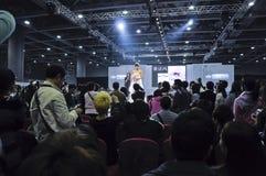 2011年瓷商展广州春天婚礼 库存照片