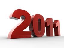 2011 3D text Stock Photos