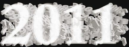 2011 años Imágenes de archivo libres de regalías
