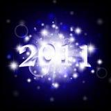 2011 Años Nuevos Foto de archivo libre de regalías