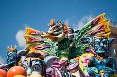 2011年acireale carnevale ct 免版税库存照片
