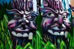 2011年acireale carnevale ct 免版税库存图片