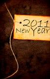 2011 anno Immagine Stock Libera da Diritti