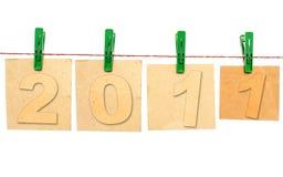2011 anos novo Imagem de Stock