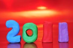 2011 ans neufs Photo stock
