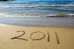 2011 ans neufs heureux Image libre de droits