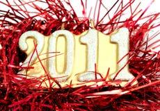 2011 ans neufs heureux Photographie stock
