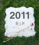 2011 ans sont morts Images libres de droits