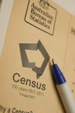 2011 Australian Census Stock Images