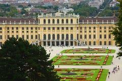 2011 Austria nbrunn pałac sch Vienna zdjęcie stock