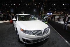 2011 auto Chicago Lincoln modela przedstawienie Obraz Stock