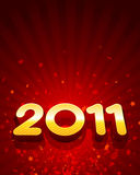 2011 background design Royalty Free Stock Images