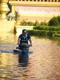 2011 Bangkok powódź Październik Zdjęcie Stock