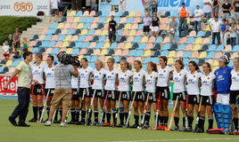 2011 Belgium filiżanki europejski Germany hokej v Obrazy Stock